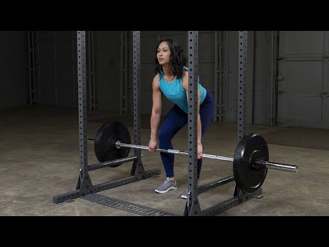 Powerline by Body-Solid PPR1000 Power Rack (BodySolid.com)