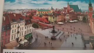 Путевые Заметки.Польша,март 2017:аппартаменты AdMatch Jantar Studio в Варшаве в 4K