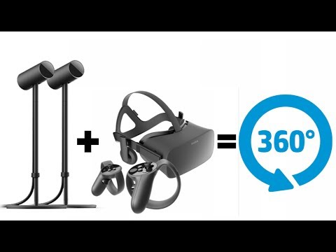 Oculus Rift 360 Tracking With 2 Cameras + New Set Up