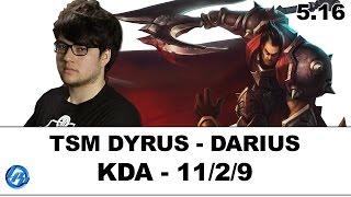 TSM Dyrus - Darius vs Maokai - Kr SoloQ