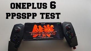 OnePlus 6 PPSSPP gaming test/PSP Games/Snapdragon 845/Gamepad Ipega/2018