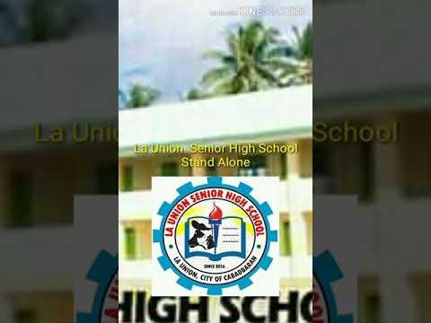 La Union Senior High School Stand Alone(PrinceZyrrehvlog)