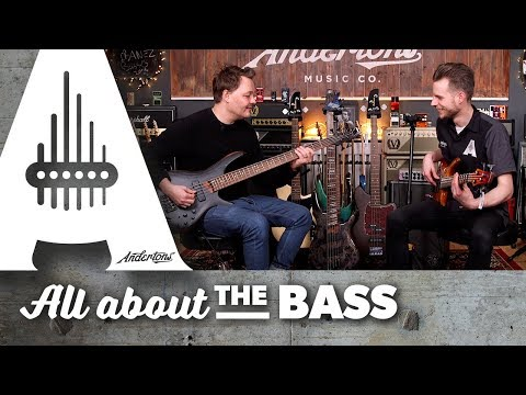 Exclusive First Look - 2018 Ibanez Basses