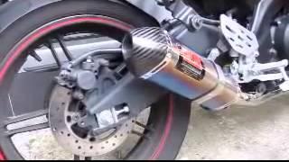 Yamaha R15 Knalpot Yoshimura TRC USA Titanium