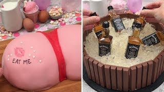 It's Cake O'Clock 🎂 Boozy Birthday Bonanza 🎁 Balloon Cake🎈Over-the-Top Cakes: They're a Party
