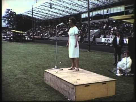 Gymnastik, mænd og kvinder - Landsstævne 1966 i Århus