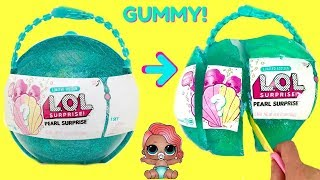 Opening LOL Surprise Pearl Surprise and a Jello LOL Surprise Gummy