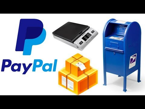 CHEAPEST & EASIEST Way to Ship Using Paypal| Creating Shipping Labels
