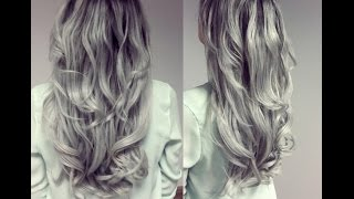 Grey/Silver Hair Tutorial / Styling