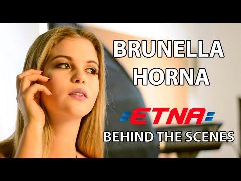 Brunella Horna - BATERIAS ETNA Photoshoot (Detrás de Cámaras)