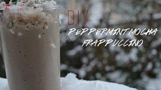 diy // peppermint mocha frappuccino Thumbnail