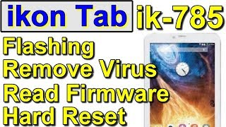 Ikon Tablet Ik 780 Hard Reset From Youtube - The Fastest of