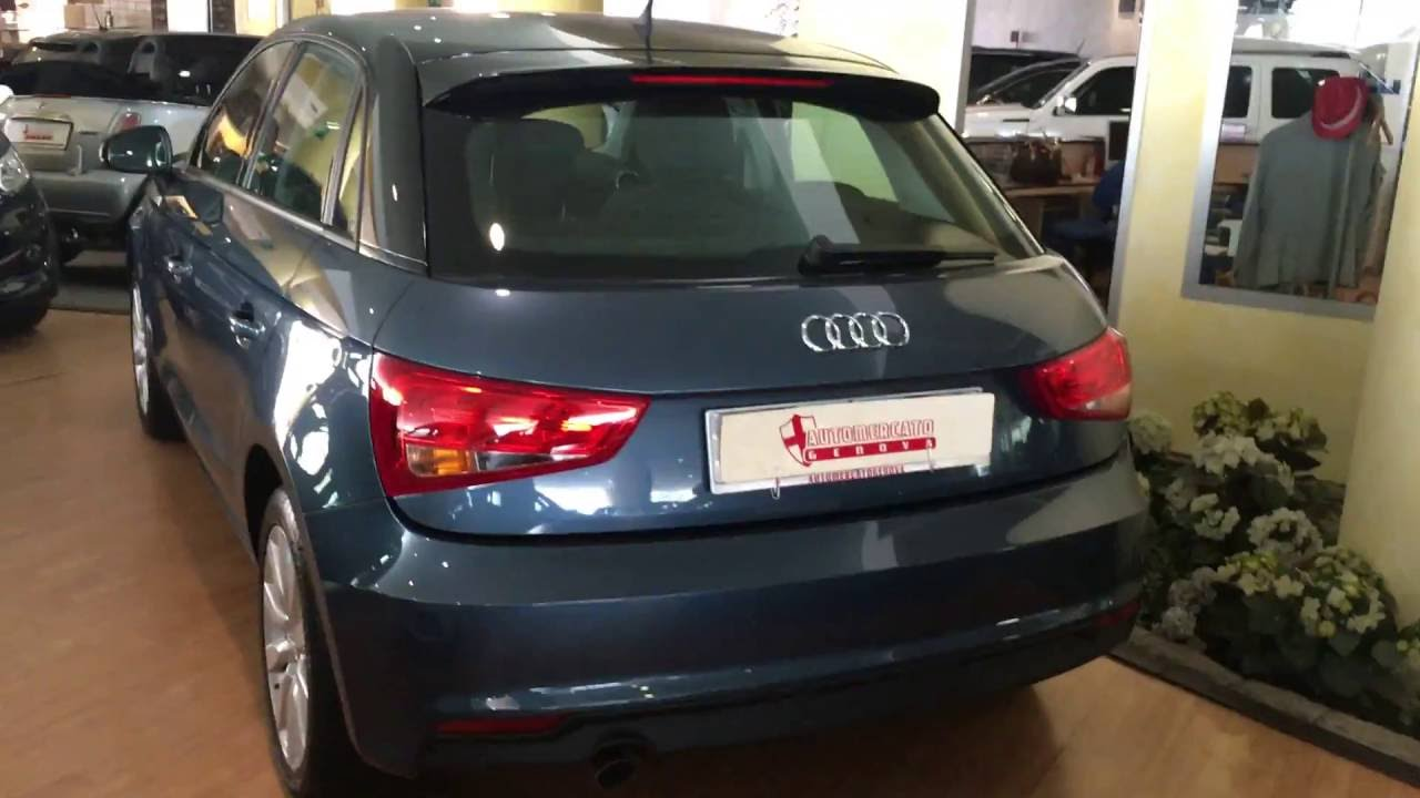 audi a1 1 4 tdi 90 cv youtube. Black Bedroom Furniture Sets. Home Design Ideas