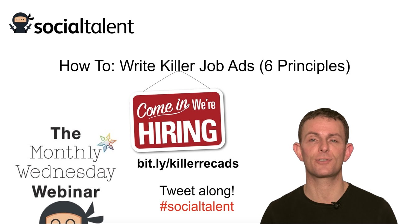 Writing a job vacancy advertisement