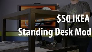 The $50 Ikea Standing Desk Mod
