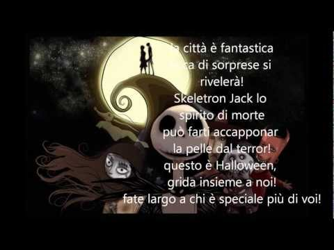 A Nightmare before Christmas - Questo è Halloween - con testo