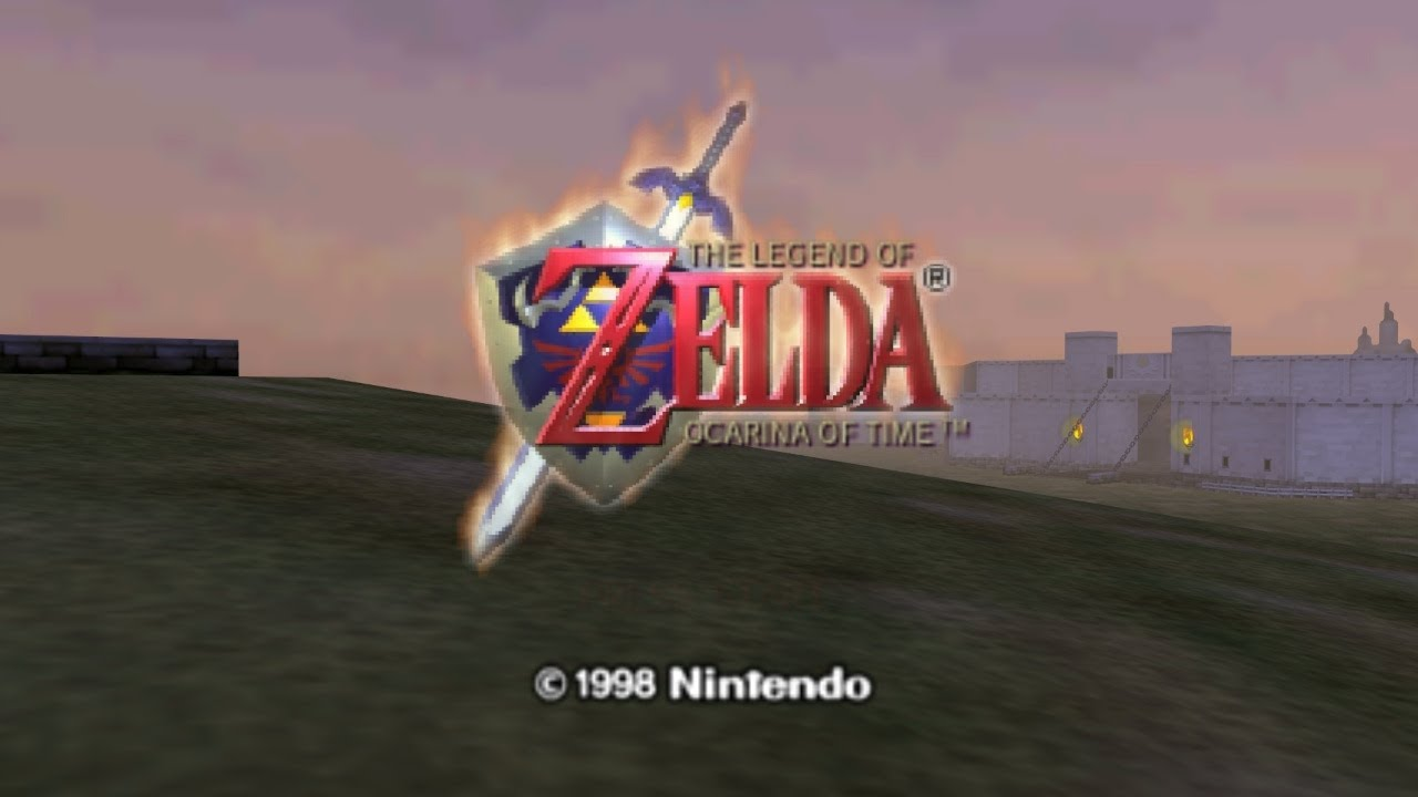 Don 2 Hd Wallpaper 1080p The Legend Of Zelda Ocarina Of Time Intro Youtube