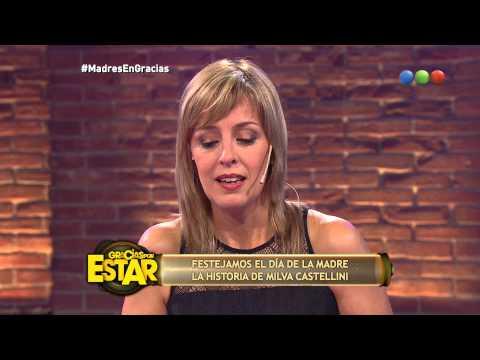 Milva Castellini: el embarazo de Telefe Noticias - Gracias Por Venir