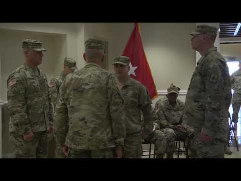 153rd Troop Command's new Command Sergeant Major