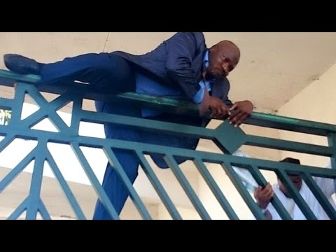 Extraordinary Scenes inside Nigeria National Assembly