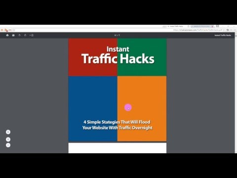 Instant traffic hacks WSO review