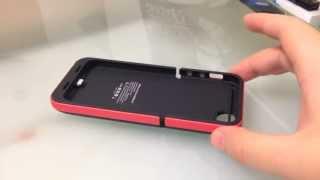 Unboxing 2200 mAh iPhone 5 battery case // Funda con bateria de 2200 mAh iphone 5