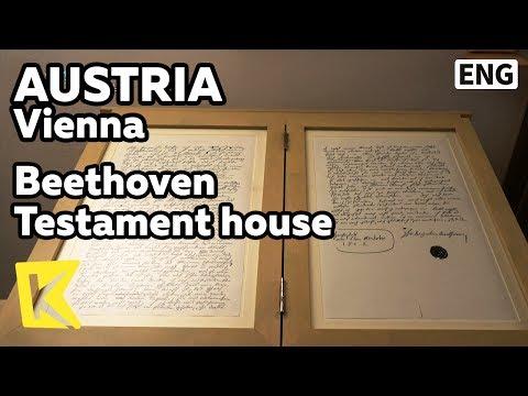 【K】Austria Travel-Vienna[오스트리아 여행-빈]베토벤 유서의 집/Beethoven/Testament house/Wohnung Heiligenstadt