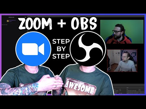 How To Add A Guest To Your Stream With Zoom / OBS Studio