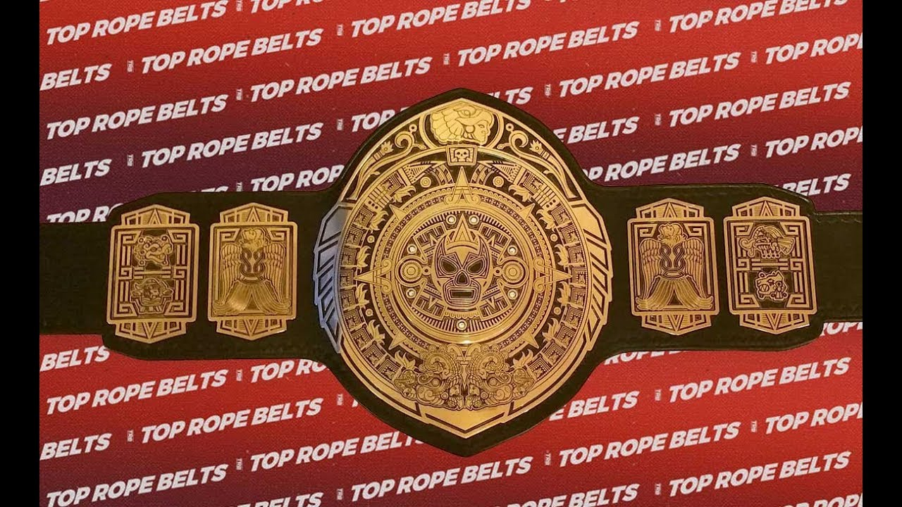 Lucha Underground Championship Title Belt Review - World / Gift of ...