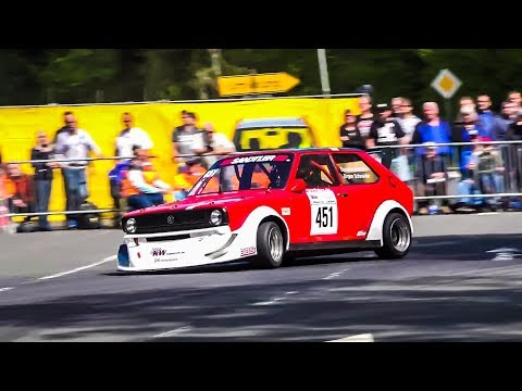 Bergrennen Schotten 2018 NSU TT 16 V  gegen VW Polo 16V
