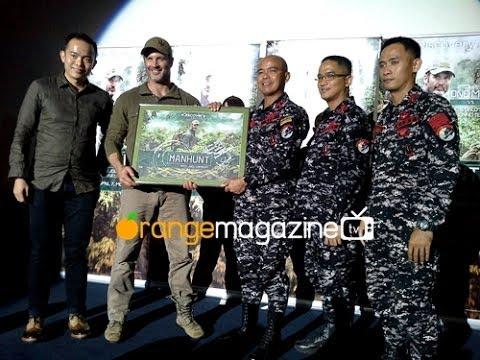 Manhunt with Joel Lambert (Philippine Press Conference)