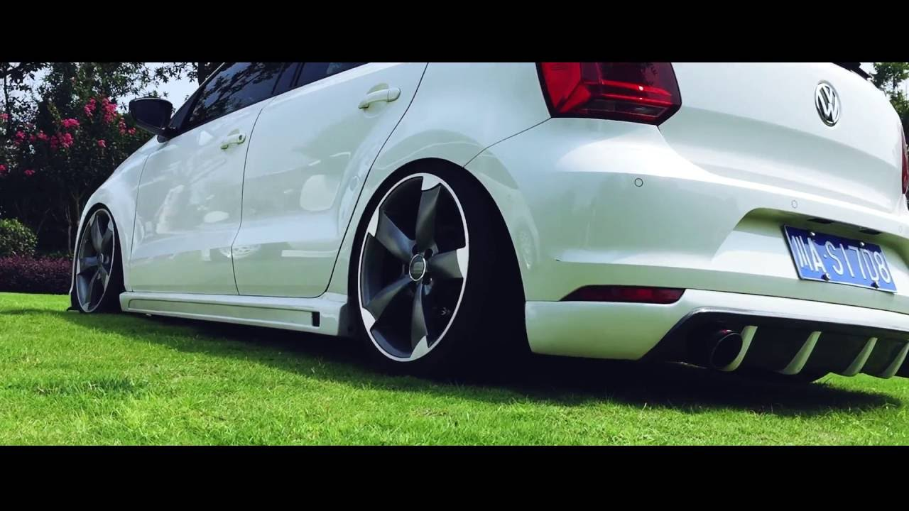 hellaflush bagged vw polo 6r hangout youtube. Black Bedroom Furniture Sets. Home Design Ideas