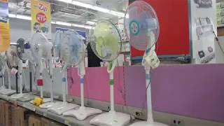 Fans at Carrefour