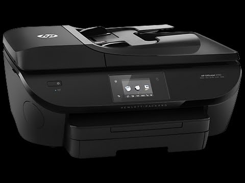 Hp Officejet 5740 Unboxing Youtube