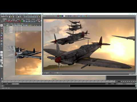 Interactive 3D rendering with Autodesk Maya, Chaos Group V-Ray RT 2.0 and NVIDIA Maximus