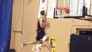 DUNK OFF :: 6'1 Jordan K :: Windmill over, etc.. (month and a half old)