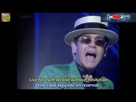I GUESS THAT'S WHY THEY CALL IT THE BLUES  ELTON JOHN  Subtitulado en Español & Ingles