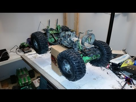 RC ATHLETES - Rebuild of Krazy Joe's Boom Rig