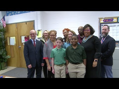 Whitney Young Elementary -- French Consul General