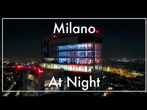 Unicredit Tower, Piazza Gae Aulenti in Milan Italy - Shot with DJI Inspire2 Drone