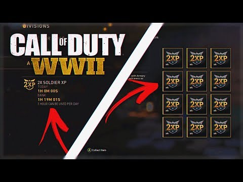 *NEW* UNLIMITED WW2 DOUBLE XP CODES GLITCH/HACK - WORLD WAR 2 UNLIMITED XP GLITCH