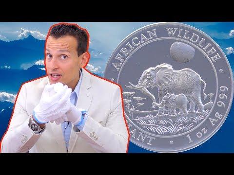 1 Unze Silber ⚡ Somalia Elefant 2011 ⚡ Rarität