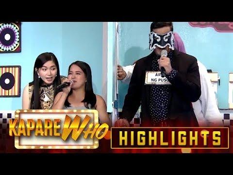 Mariah Caring pairs up with Arab Ng Puso   It's Showtime KapareWho
