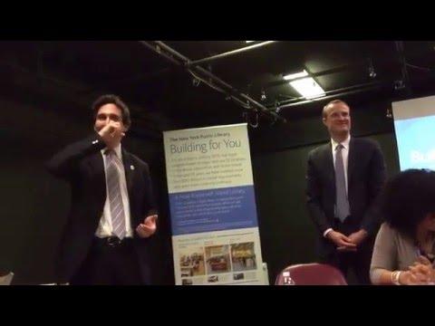 NYPL Roosevelt Island Library New Branch Presentation (Part 4)