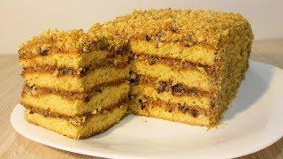 Торт Медовик.Простейший и очень вкусный рецепт!