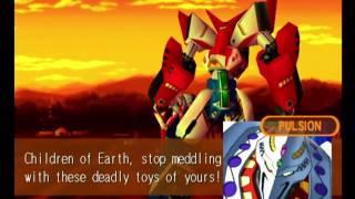 Tech Romancer (Dreamcast) Story as Twinzam V