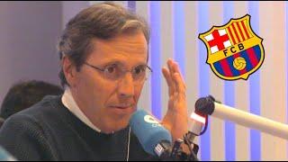 Paco González, crítico con el Barça: