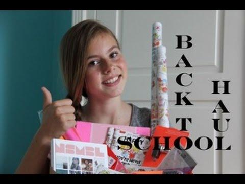 BACK TO SCHOOL HAUL - NINA HOUSTON
