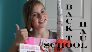 BACK TO SCHOOL HAUL - NINA HOUSTON