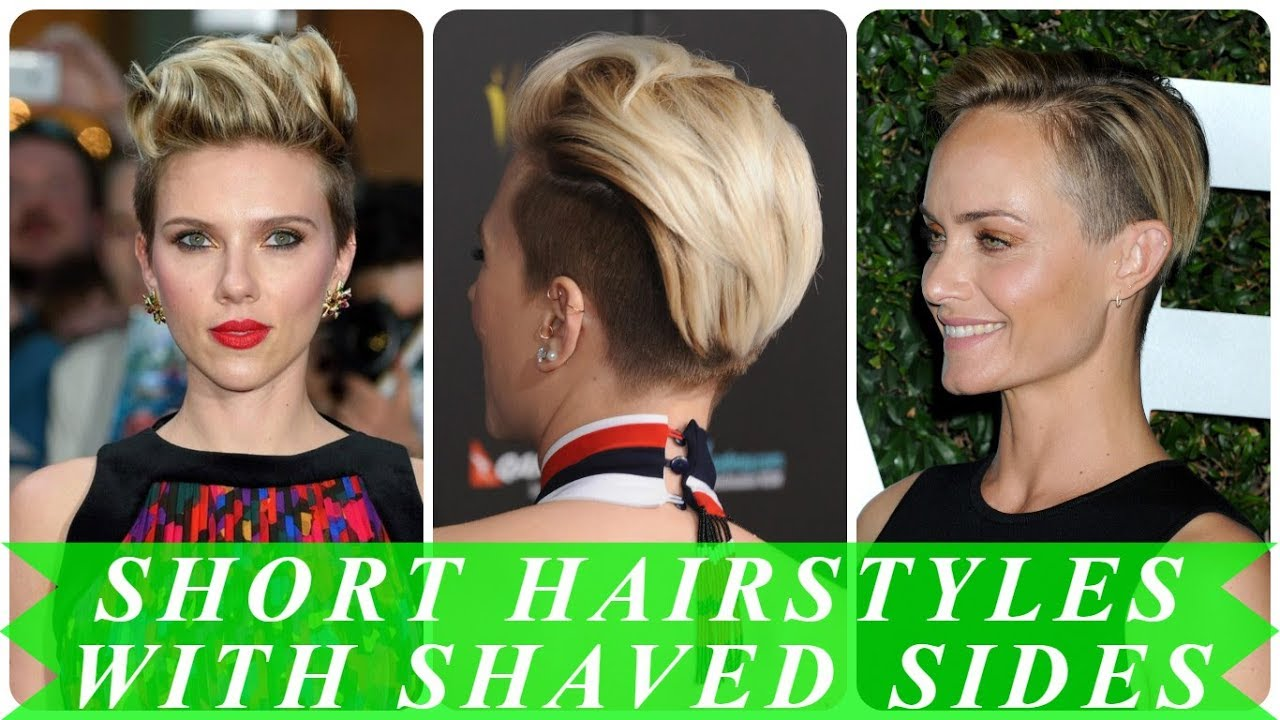 20 Popular Ideas For Womens Short Shaved Sides Hairstyles